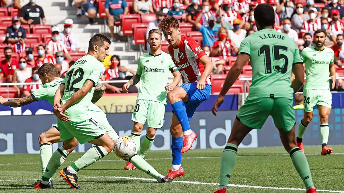 Empate sin Goles entre el Atlético y Athletic
