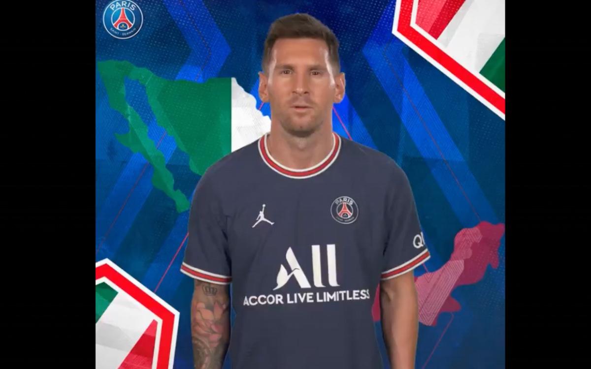 Messi y PSG Felicitan a México en el Día de la Independencia